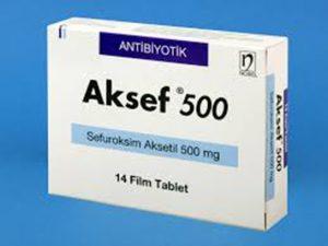 Aksef 500 mg nedir ve ne için Kullanılır?