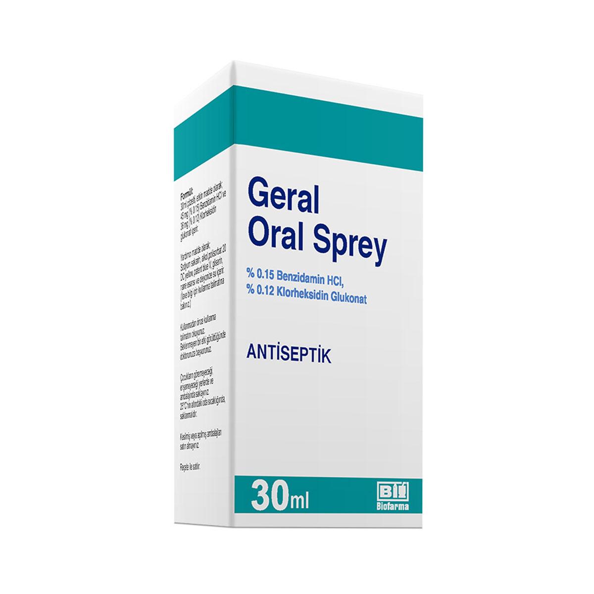 Geral Oral Sprey nedir ve ne için Kullanılır?