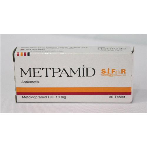 Metpamid nedir ve ne için Kullanılır?