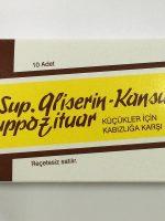 Sup Gliserin Kansuk K Nedir ve Ne İçin Kullanılır ?