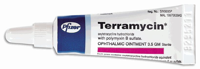 TERRAMYCIN deri merhemi nedir ve ne için kullanılır?