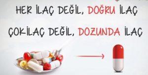 bilinçli ilaç tüketimi