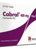 Cabral nedir ve ne için kullanılır ?