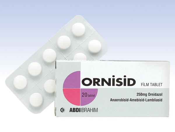 Ornisid 250 mg nedir ve ne için kullanılır?