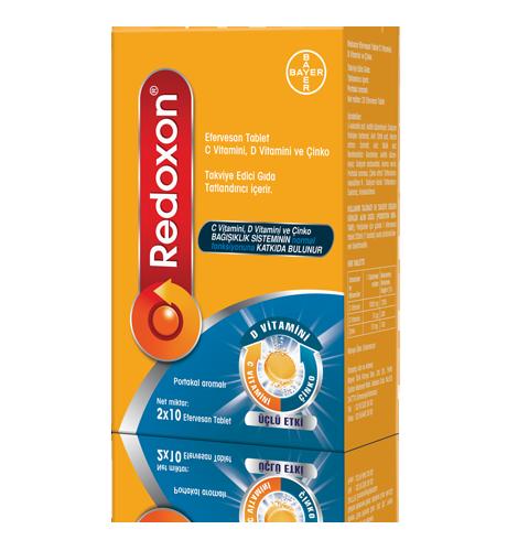 Redoxon C Efervesan Tablet nedir ve ne için kullanılır?