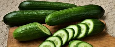 yanık izi için salatalık