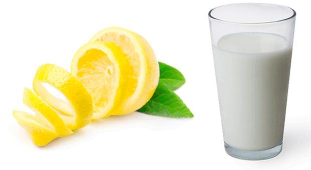 süt ve limon mucizesi