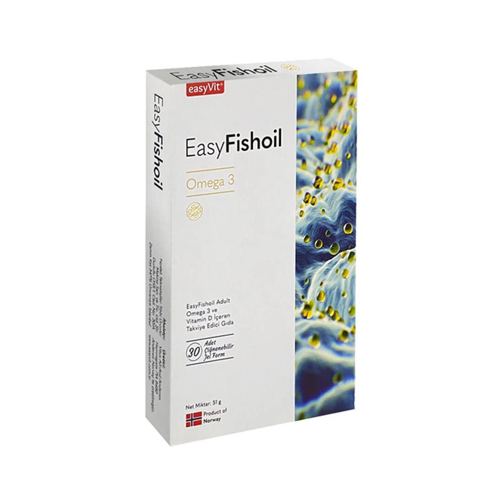 En İyi Balık Yağı Markaları EasyVit EasyFishoil Omega 3