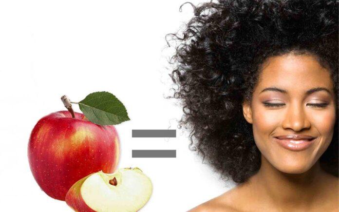 Elmanın Saça Faydaları